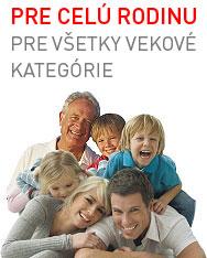 CRP test pre celú rodinu.